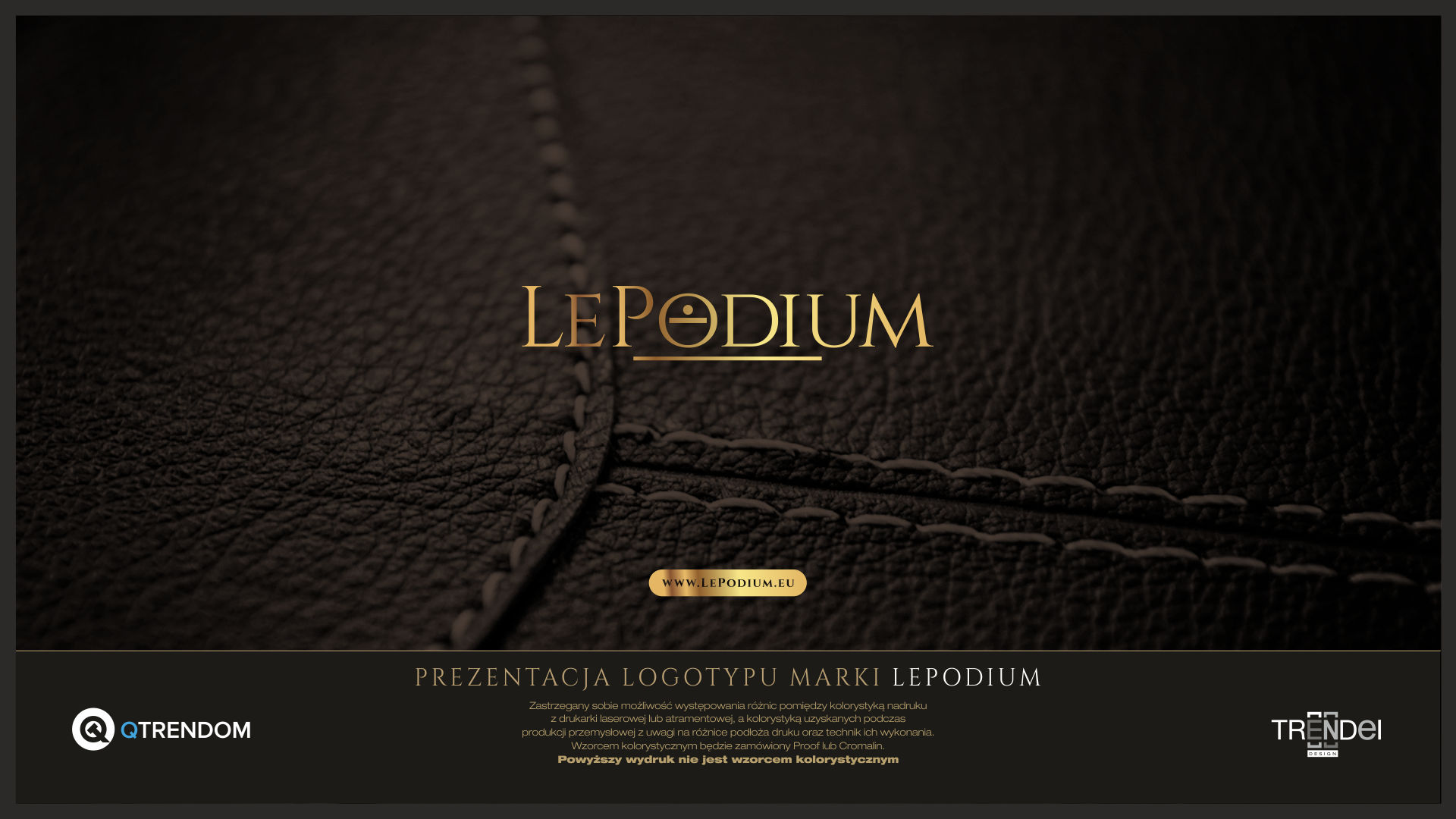 POST3: Logotyp – LePodium